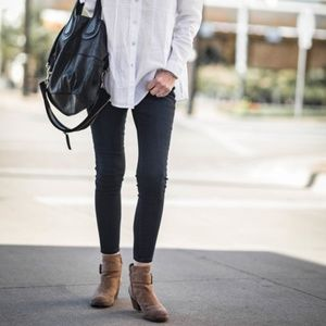 J. Jill Black Denim Skinny Jeans Leggings NWT